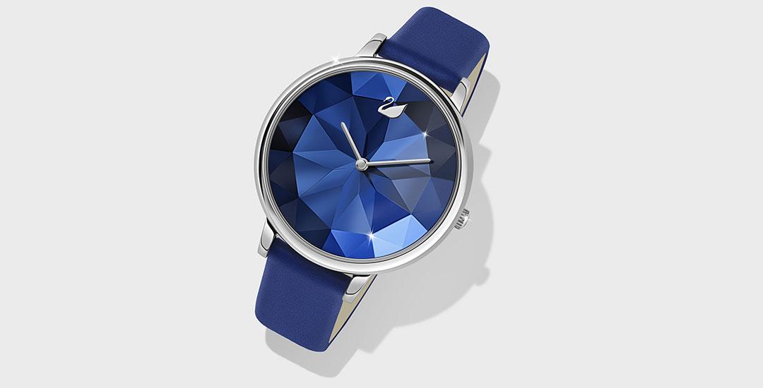 03cbaba86c5 A Swarovski lançou uma linha de relógios que representa toda criatividade