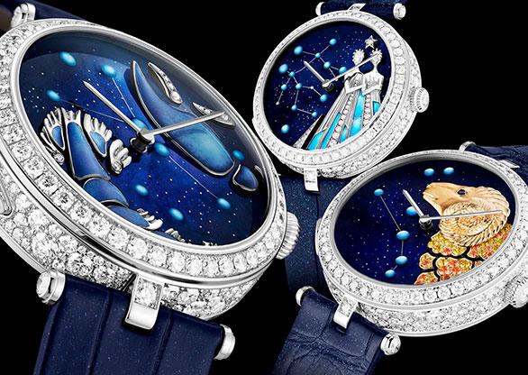 556b0938d60 Van Cleef   Arpels se volta às estrelas em nova coleção de relógios