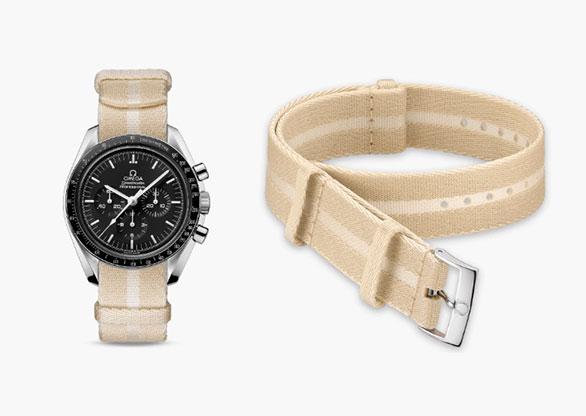 02b83e97af5 Omega inova e lança a primeira pulseira de relógio feita de Biosteel