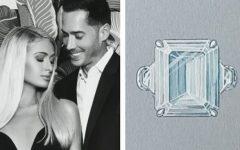 Anel de Noivado de Paris Hilton